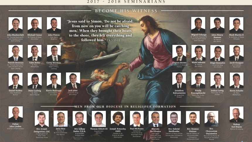 2017-18 Seminarian and Religious Formation