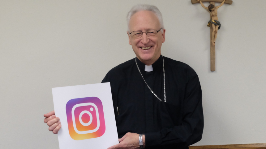 Bishop and Instagram Logo