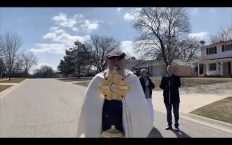 The Eucharistic Procession Grand Blanc