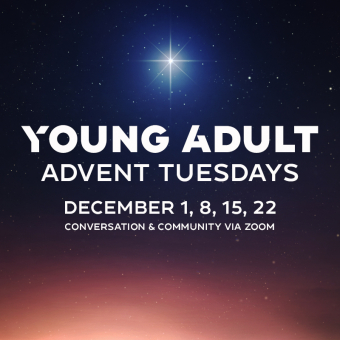 Open configuration options Young Adult Advent Tuesday
