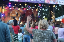 Record-breaking crowd of more than 9400 people at FaithFest