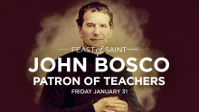 Feast of St John Bosco