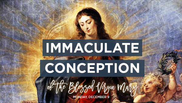 Solemnity of Immaculate Conception