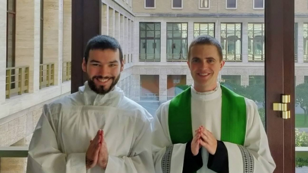 Peter Ludwig becomes an Acolyte