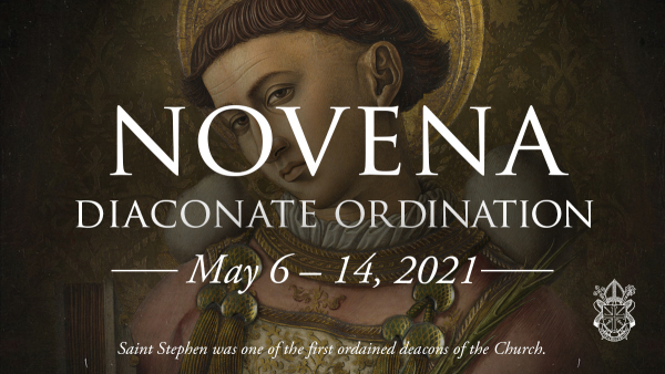 Invitation: Ordination Novena for Diaconate Ordinands